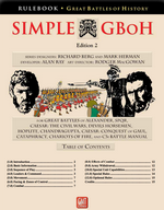 Обложка военной игры GMT Games Simple Great Battles of History